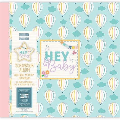 Album w balony 30x30 - Hey Baby - Hot Air Balloons