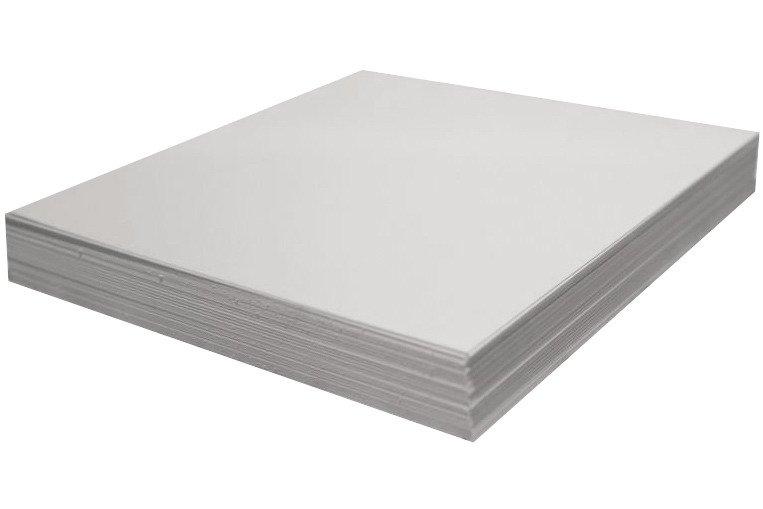 Arkusz papieru biały 30x30 - Rzeczy z papieru