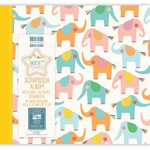 Album 20x20 - Hey Baby - Elephants