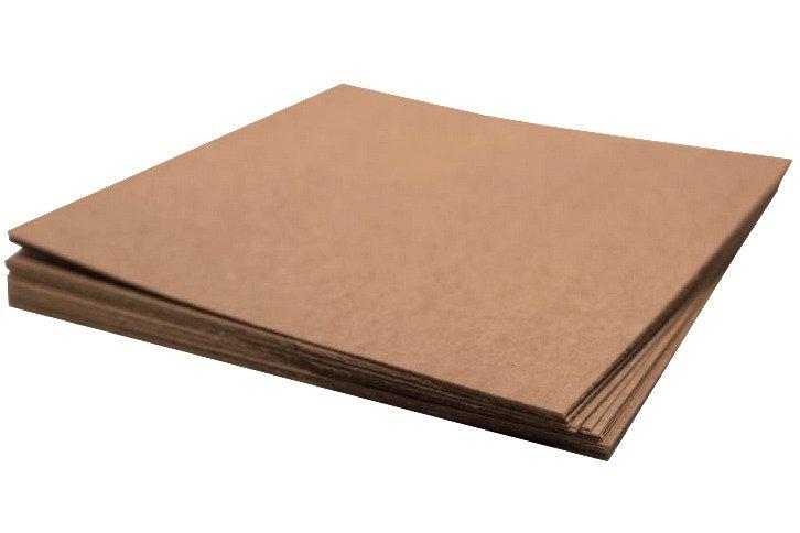 Arkusz papieru kraft 30x30 - Rzeczy z papieru