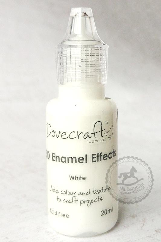 3D Enamel Effects - Dovecraft - White - białe