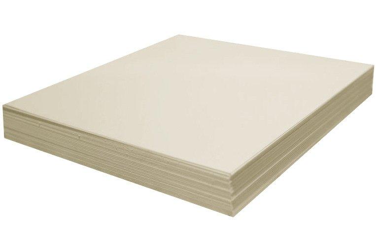 Arkusz papieru kremowy 30x30 - Rzeczy z papieru