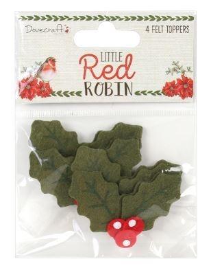 449bce01bce93 ... Ostrokrzew z filcu - Dovecraft - Little Red Robin ...