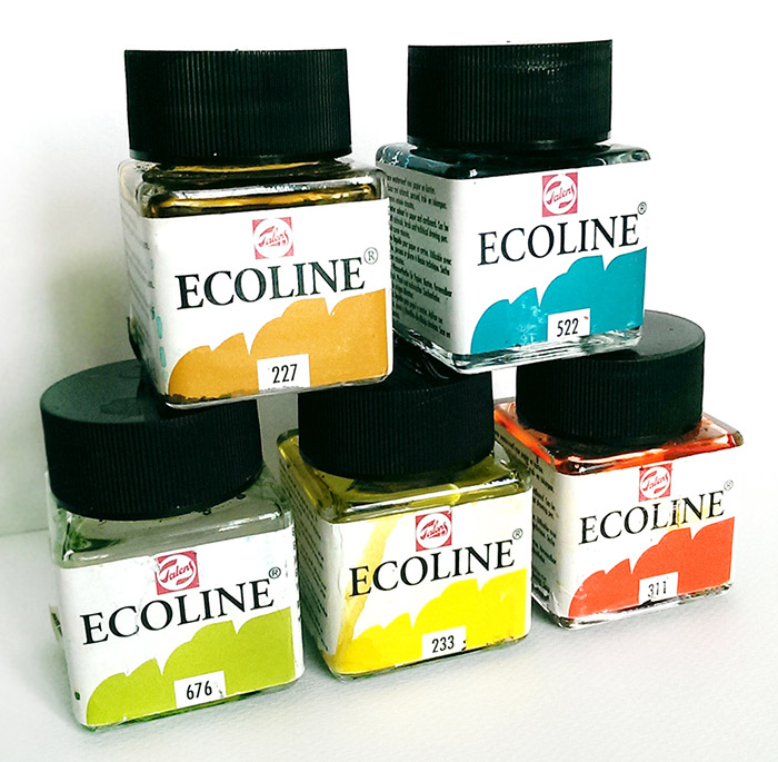 farby akwarelowe Ecoline