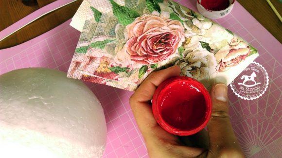 farba akrylowa do decoupage