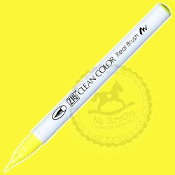 Clean Color Real Brush - Fl. Yellow 001 żółty fluo
