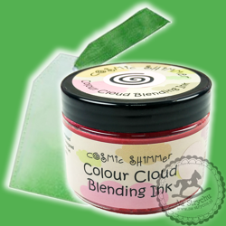 Colour Cloud - Cosmic Shimmer - Basil Leaf - zielony tusz
