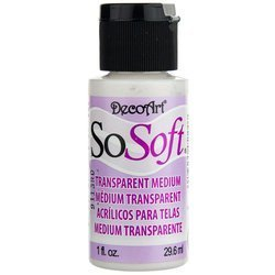 SoSoft Transparent Medium - medium do farb do tkanin