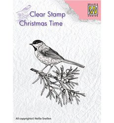 Stempel - Nellie`s Choice - CT023 ptaszek