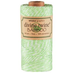 Sznurek Green Apple & White Eco-Bamboo Divine Twine - 5m