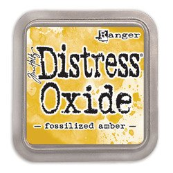 Tusz Distress Oxide - Tim Holtz - Fossilized Amber - Ranger Ink