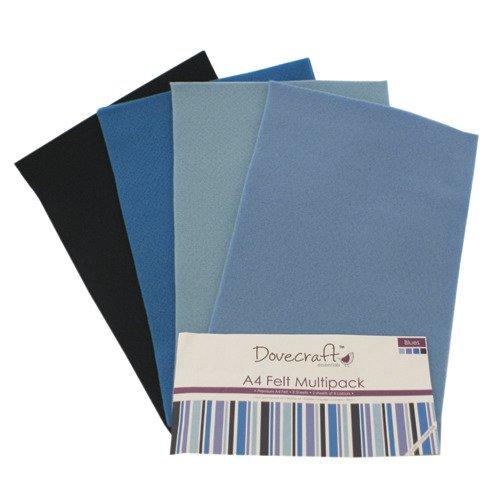 59f9fcf528da2 Filc A4 zestaw niebieski - Dovecraft