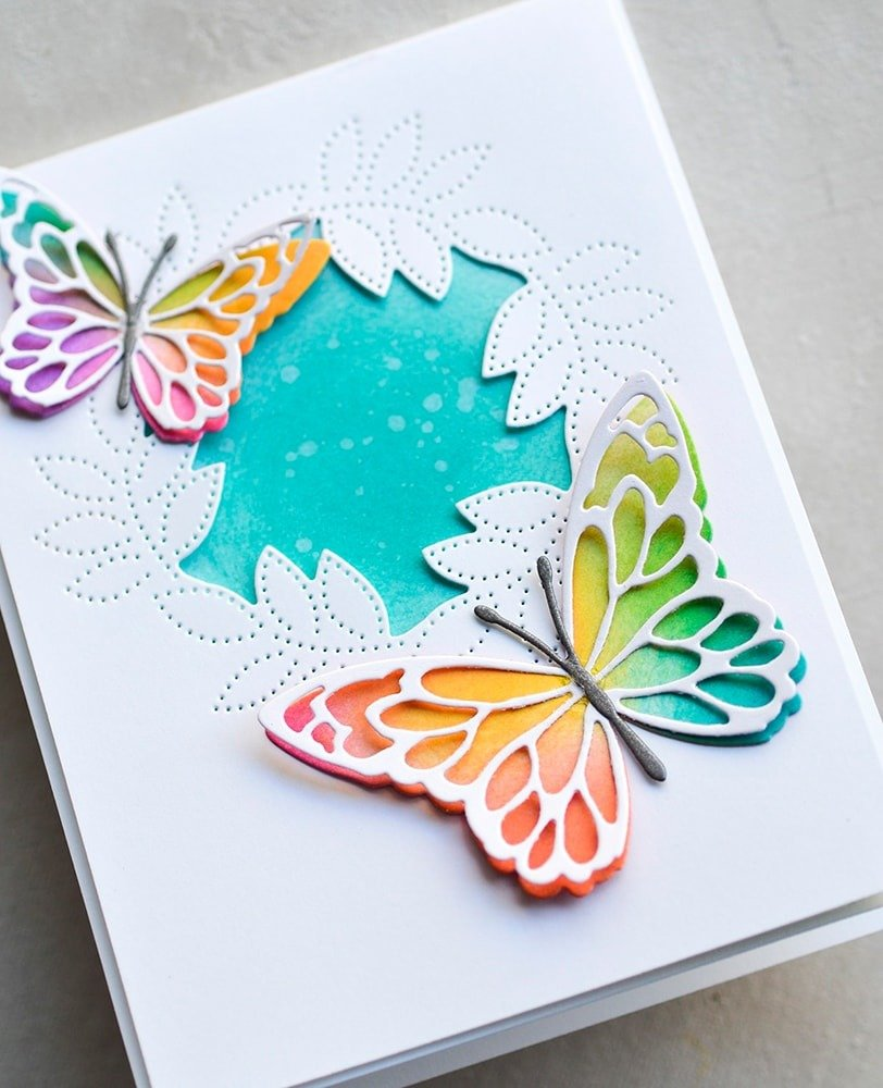 Memory Box Gloriosa Butterfly Duo Outlines 이미지 검색결과
