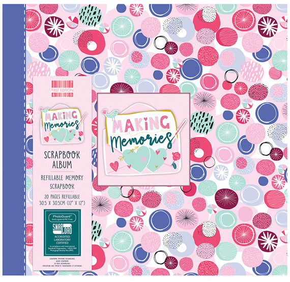 Album - First Edition - Making Memories - Spots