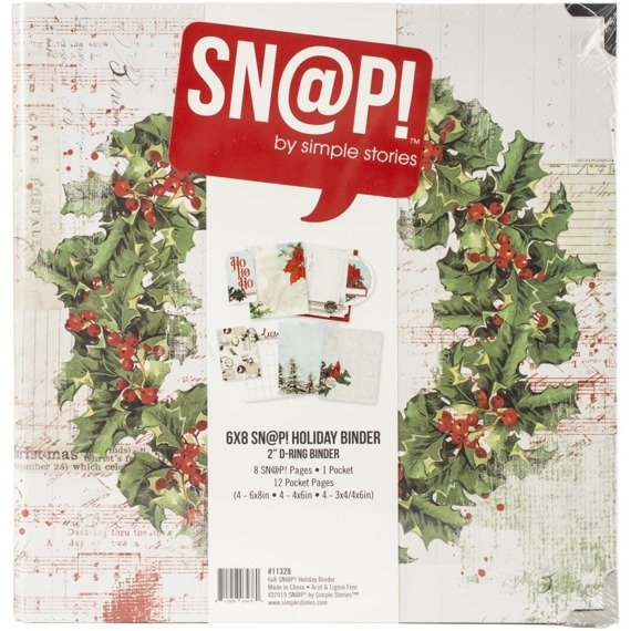 Album / segregator - Simple Stories - Country Christmas