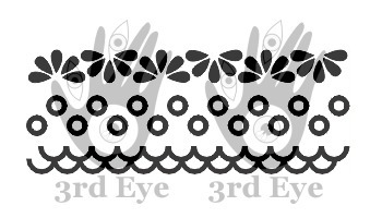 Borders 2 - stempel gumowy - 3rd Eye