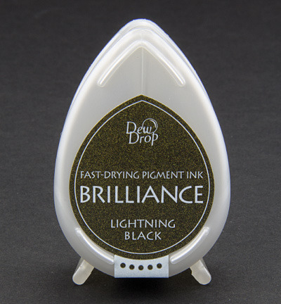 Brilliance Drop - Lightning Black - Tsukineko, 373095