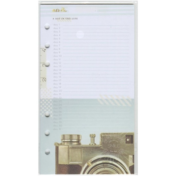Color Crush Personal Planner Inserts - Memory Keeping