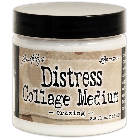 Distress Collage Medium - Crazing - Ranger 113ml