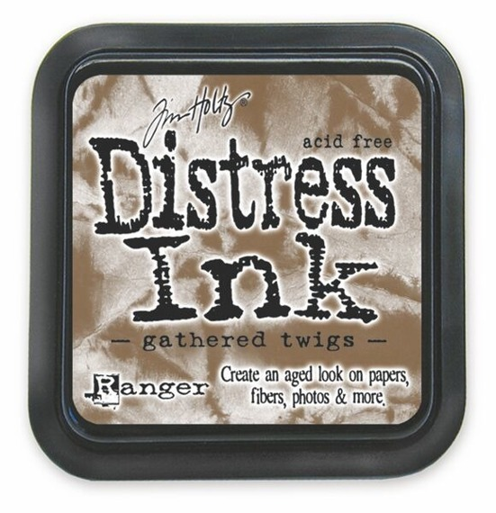 Distress Ink Pad - Gathered Twigs - Poduszka z tus