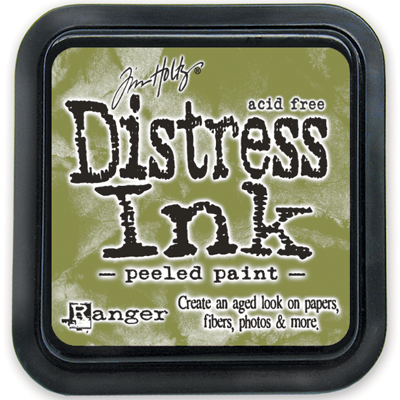 Distress Ink Pad - Ranger - Tim Holtz - Peeled Paint - tusz oliwkowy
