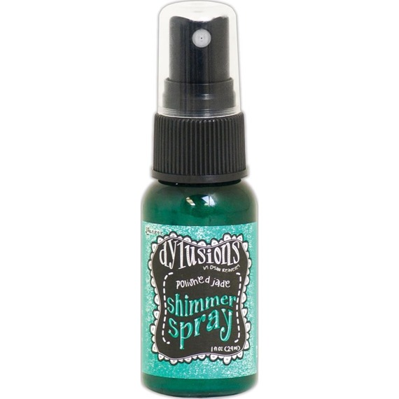 Dylusions Shimmer Spray - Polished Jade