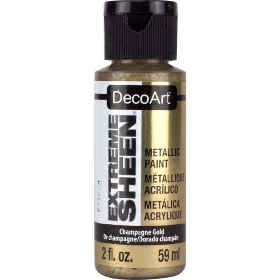Farba metaliczna Extreme Sheen - DecoArt - Champagne Gold 59ml
