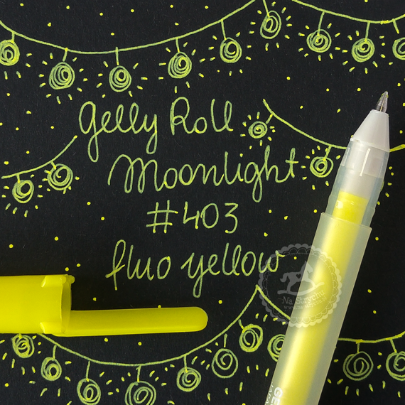 Gelly Roll Moonlight - Fluorescent Yellow 403 - fluorescencyjny żółty
