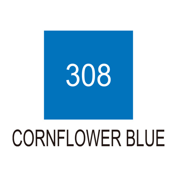 Marker Art & Graphic Twin - Cornflower Blue 308 niebieski