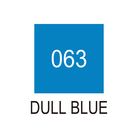 Marker Art & Graphic Twin - Dull Blue 063