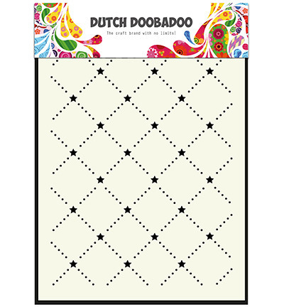 Maska - Dutch Doobadoo - Art Screen of Stars - gwiazdki