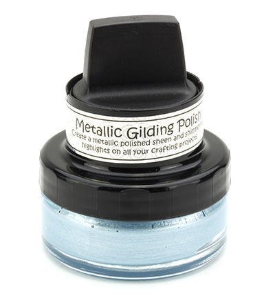Metallic Gilding Polish - Cosmic Shimmer - Powder Blue