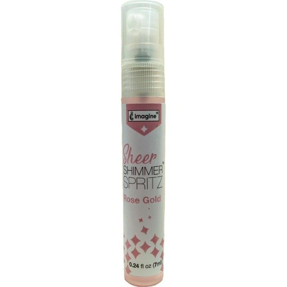 Mgiełka Sheer Shimmer Spritz - Rose Gold 7ml