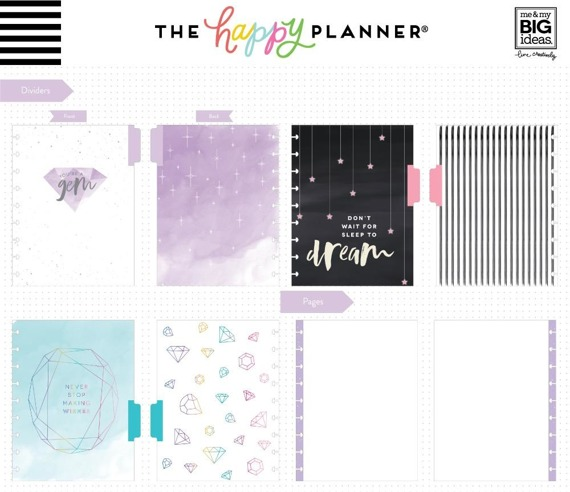 Notes Happy Planner - Rainbow Be Bold Student