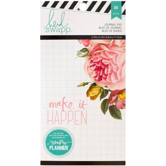Planer Journal Pad - Heidi Swapp - Make it Happen