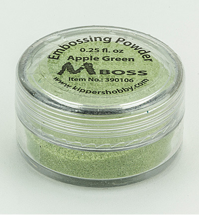 Puder do embossingu - Apple Green