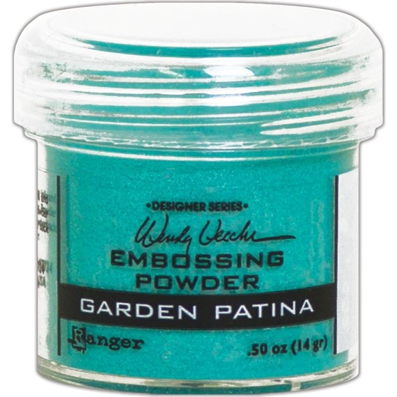 Puder do embossingu - Garden Patina - Ranger