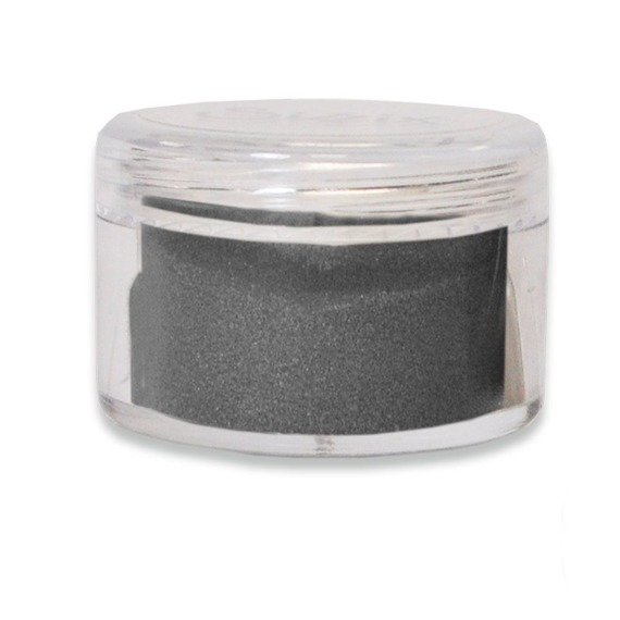 Puder do embossingu - Sizzix - Earl Grey -  szary