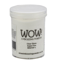 Puder do embossingu - Wow! - Clear Gloss Super Fine