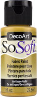 SoSoft Fabric Acrylics antique Gold