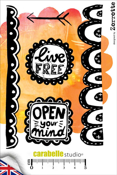Stempel A6 - Carabelle Studio - Open Your Mind