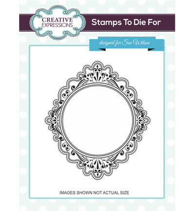 Stempel - Creative Expressions - Encore Scroll