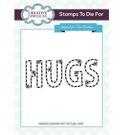 Stempel - Creative Expressions - Hugs & Flowers
