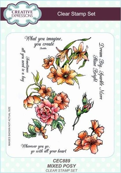 Stempel - Creative Expressions - Mixed Posy