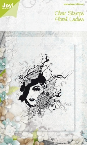 Stempel - Joy!Crafts - Floral Lady 0076