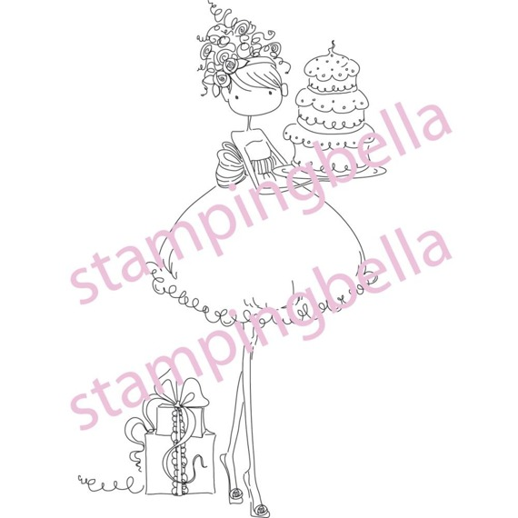 Stempel - Loves to Celebrate - Stamping Bella