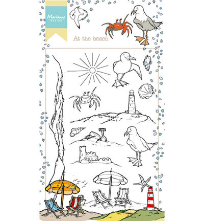 Stempel - Marianne Design - At the beach / na plaży