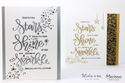 Stempel - Marianne Design - Sparkle and Shine