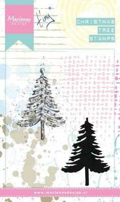 Stempel - Marianne Design - Tiny's Christmas tree - choinka
