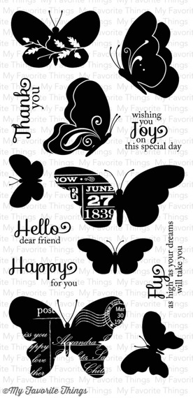 Stempel - My Favorite Things  - Blissful Butterflies
